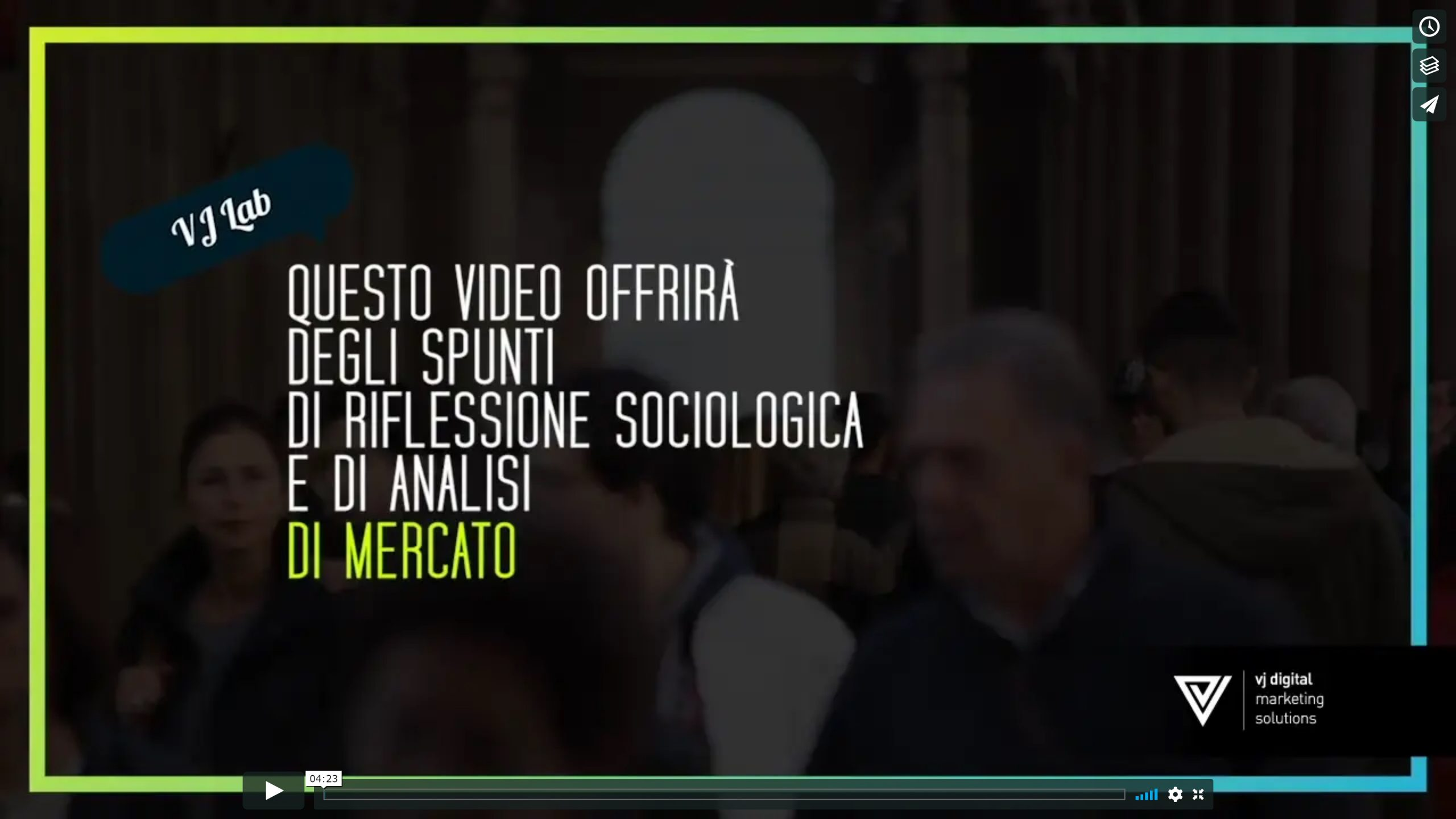 screen video di valore